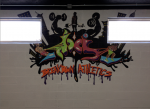 Breakdown Athletics gym mural