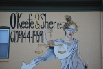 The Lady Justice mural